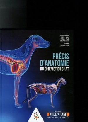 Précis d anatomie du chien et du chat - Med'Com - 9782354032623