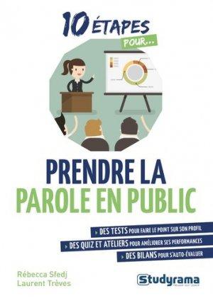 Prendre la parole en public-studyrama-9782759040018