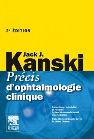 Précis d'ophtalmologie clinique-elsevier / masson-9782810101542