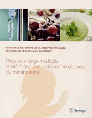 Prise en charge médicale et diététique des maladies héréditaires du métabolisme-springer-9782817800455