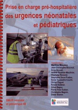 Prise en charge pré-hospitalière des urgences néonatales et pédiatriques - sauramps medical - 9782840239826