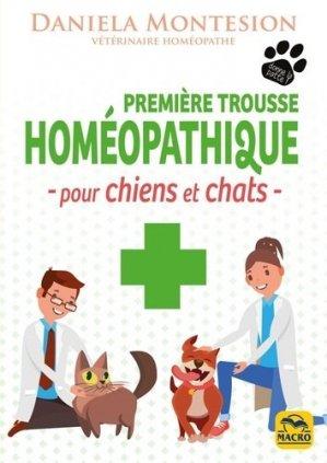 Première trousse homéopatique pour chiens et chats-Macro-9788828501718