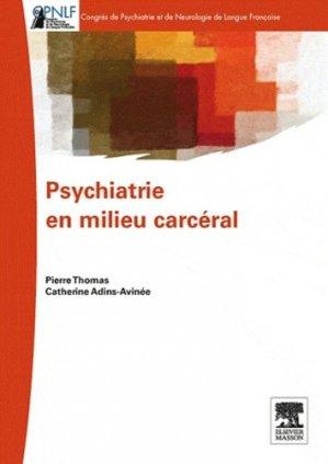 Psychiatrie en milieu carcéral-elsevier / masson-9782294719233