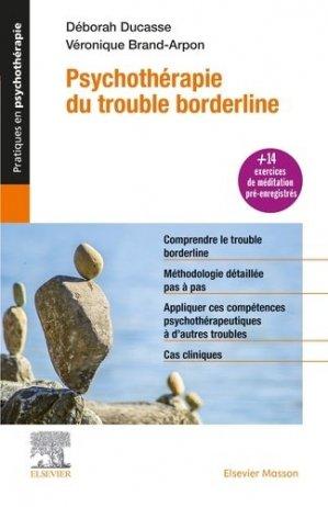 Psychothérapie du trouble borderline-elsevier / masson-9782294762413