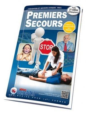PSC1 - Premiers secours civiques-icone graphic-9782357385214