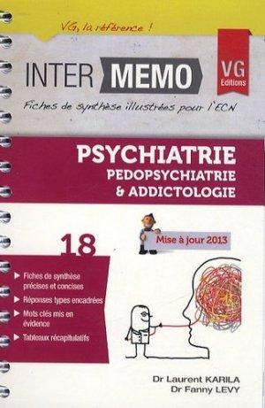 Psychiatrie Pédopsychiatrie et Addictologie - vernazobres grego - 9782818308578