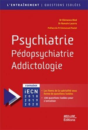 Psychiatrie, Pédopsychiatrie, Addictologie-med-line-9782846782234