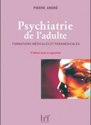Psychiatrie de l'adulte - heures de france - 9782853853262