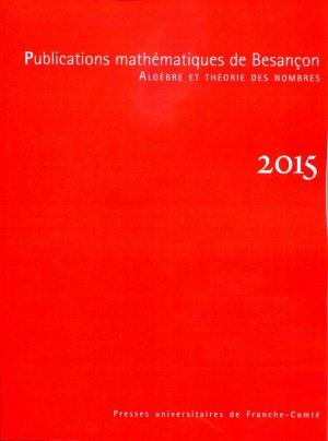 Publications mathématiques de Besançon 2015-presses universitaires de franche-comté-9782848675473