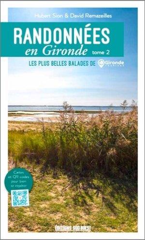 Randonnées en Gironde - sud ouest - 9782817706412