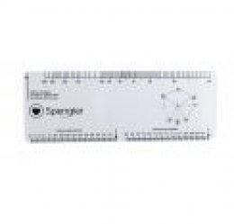 Réglette ECG - spengler - 3700446026431
