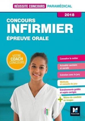 Réussite Concours - IFSI - Epreuve Orale - 2018-foucher-9782216148127