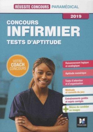 Réussite Concours - IFSI Tests d'aptitude - Concours d'entrée 2019-foucher-9782216149605