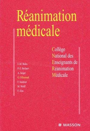 Réanimation médicale-elsevier / masson-9782294088551