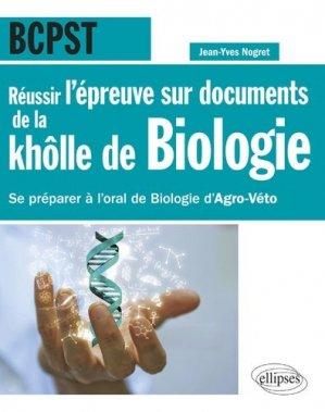 Réussir l'épreuve sur documents de la khôlle de biologie en BCPST-ellipses-9782340021471