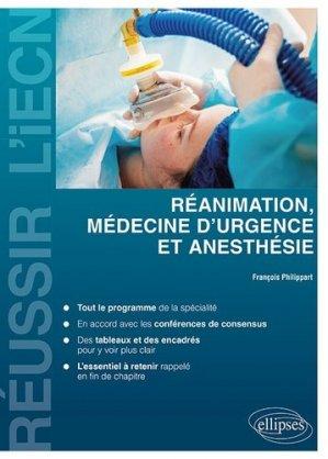 Réanimation, médecine d'urgence et anesthésie-ellipses-9782340028906