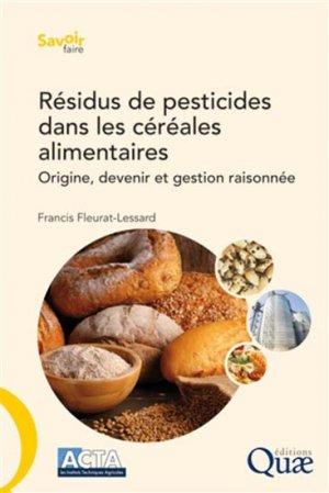Résidus de pesticides dans les céréales alimentaires-quae -9782759223893