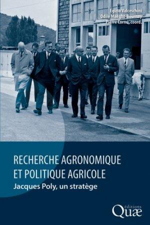 Recherche agronomique et politique agricole-quae-9782759229918