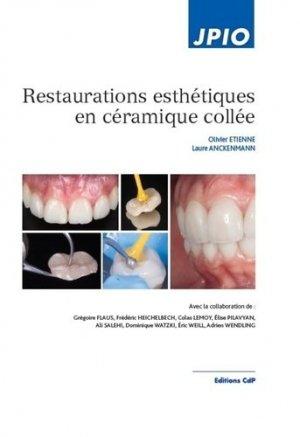 Restaurations esthétiques en céramique collée - cdp - 9782843613227