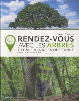 Rendez-vous avec les arbres extraordinaires de France - belles balades - 9782846404686