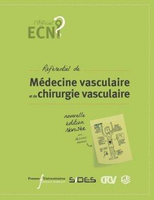Référentiel de Médecine Vasculaire et de Chirurgie Vasculaire-presses universitaires francois rabelais-9782869066694