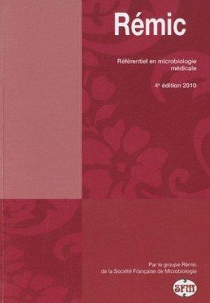Rémic-societe francaise de microbiologie-9782878050257