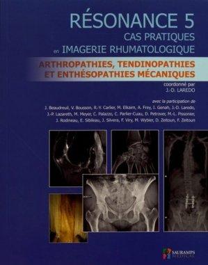 Résonance 5 - Cas pratiques en imagerie rhumatologique-sauramps medical-9791030301793