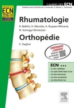 Rhumatologie Orthopédie-elsevier / masson-9782294701801