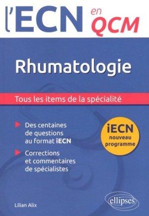 Rhumatologie - ellipses - 9782340005655