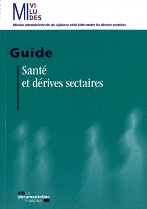 Santé et dérives sectaires - la documentation francaise - 9782110089304