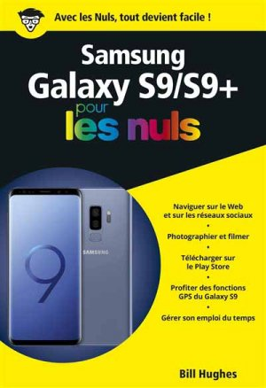 Samsung Galaxy S9, pour les Nuls, poche-first-9782412037485