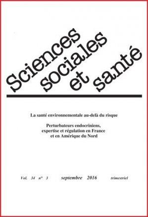 Sciences Sociales et Santé n°3-john libbey eurotext-9782742014699