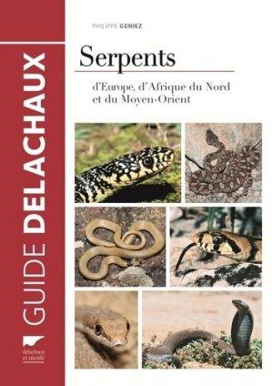 Serpents d'europe. d'afrique du nord et du moyen-orient-delachaux et niestle-9782603019559