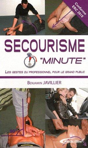 Secourisme 'Minute' - medicilline - 9782915220292