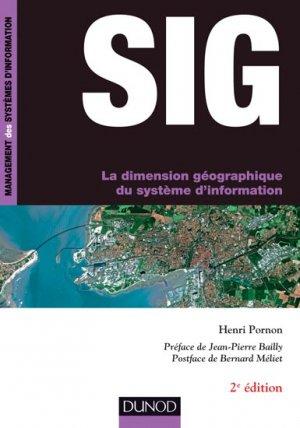 SIG - La dimension géographique du système d'information-dunod-9782100721443