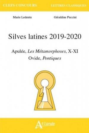 SILVES LATINES 2019/2020 -atlande-9782350305417