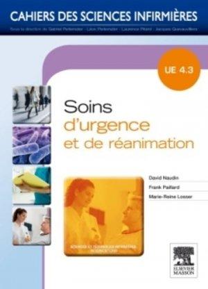 Soins d'urgence et de réanimation-elsevier / masson-9782294712357