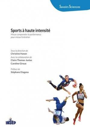 Sports à haute intensité - insep - 9782865802388