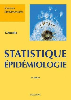 Statistiques - épidemiologie-maloine-9782224035228