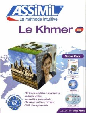Super Pack - Le Khmer - Débutants et Faux-débutants - assimil - 9782700580419