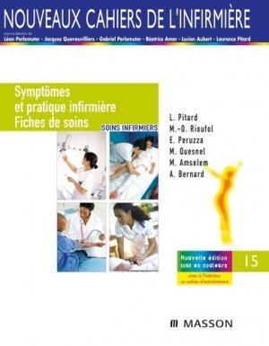 Symptômes et pratique infirmière / Fiches de soins - elsevier / masson - 9782294768712