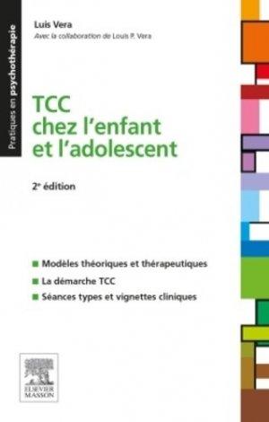 TCC chez l'enfant et l'adolescent - elsevier / masson - 9782294738548