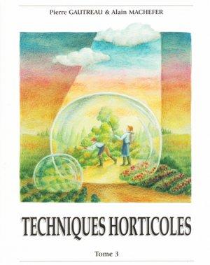 Techniques Horticoles Tome 3-hortivar-9782917308066