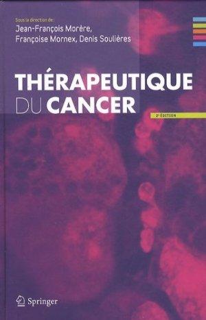 Thérapeutique du cancer - springer - 9782817800202