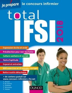 Total IFSI 2018 - Concours Infirmier-dunod-9782100769643