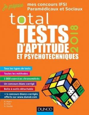 TOTAL Tests d'aptitude et psychotechniques - 2018-dunod-9782100769735
