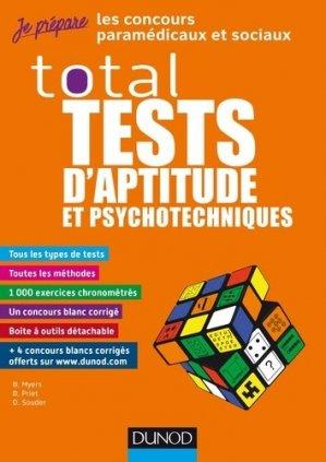 Total Tests d'aptitude et psychotechniques-dunod-9782100789252