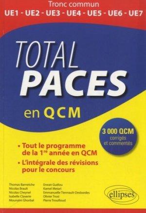 Total PACES en QCM - ellipses - 9782729886851