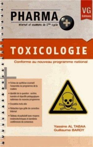 Toxicologie-vernazobres grego-9782818307052