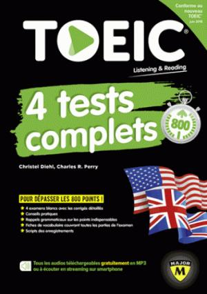 TOEIC 4 Tests Complets-belin-9791035803759